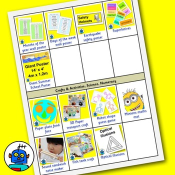 Free Catalogue of Flash Cards, Clip Art, Crafts, ESL Songs and More