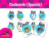 Alphabetical Flash Cards in Spanish