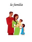 Flash Cards (la familia/family) w/ pictures
