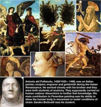 15 Renaissance Art Cards - Art History - Renaissance