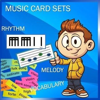 Flash Cards—Elementary Music Flash Card Bundle, K-5