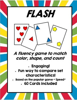 Flash! (Comparing Characteristics of Non-numerical Sets)