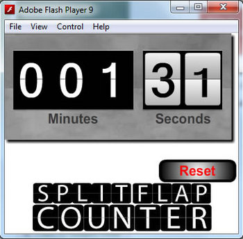 Flash Counter / Stopwatch Tool
