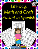 Flash Deal! Year Long Literacy and Math Packet in Spanish