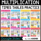 Multiplication Facts Fluency Practice Google Slides™ Dista