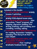 Flash Fiction: Art of The Short, Short Story - High School Creative Writing Unit