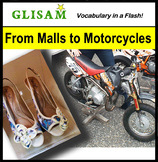 VOCABULARY IN A FLASH short story: From Malls to Motorcycles (Lexile 1010)
