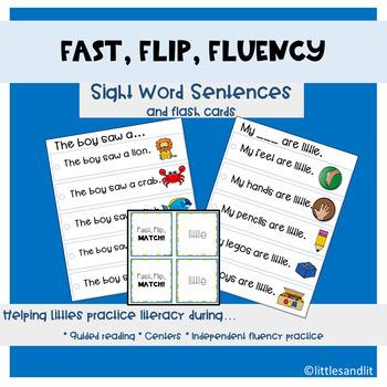 Flash Flip Fluency Sight Word Phrases