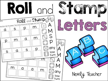 Roll and Stamp: Letters