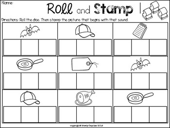 Roll and Stamp: CVC Words