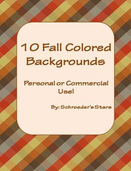10 Fall colored backgrounds for commercial or personal use