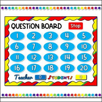 Adding within 20 Teacher vs. Student Game