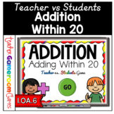 Adding within 20 Teacher vs. Student Game