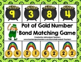 Addition Number Bond Pot of Gold Matching Game 1-10