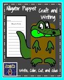 Alligator Craft: Puppet (Zoo, Summer, Animal Research)