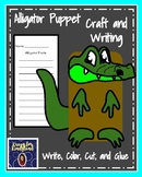 Alligator Craft for Kindergarten: Puppet (Zoo, Summer, Animal Research)