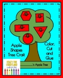 Apple Shapes Tree Craft (Autumn, Fall, Back to School, Johnny Appleseed)
