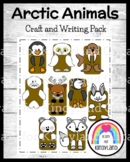 Arctic Animal Craft and Writing Pack: Puppets (Arctic Animal Research, Winter)