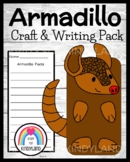 Armadillo Craft for Kindergarten: Puppet (Zoo, Summer, Animal Research)
