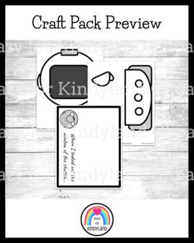 Astronaut Craft and Drawing (Outer Space, Moon)