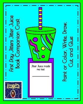 Back to School Book Companions Craft Pack:Elmer, David, Crayon Box...(First Day)