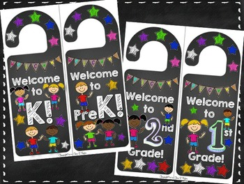 Back-to-School Door Hangers