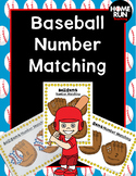 Number Correspondence Baseball Game, number and dot matching