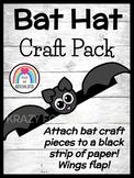 Bat Craft: Hat (Halloween, Nocturnal Animal, Fall, Autumn, Trick-or-Treat)