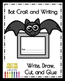 Bat Craft and Writing (Animal Research, Halloween,  Fall, Autumn)