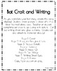 Bat Craft and Writing (Animal Research, Halloween, Fall, Autumn, Trick-or-Treat)
