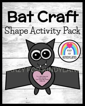 Bat Shape Craft (Halloween, Fall, Autumn)