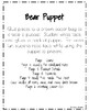 Bear Craft: Puppet (Zoo, Summer, Animal Research)