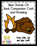 Bear Snores On Book Companion Craft and Drawing (Hibernation, Winter)