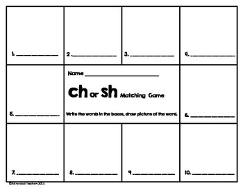 CH or SH Matching Digraph game
