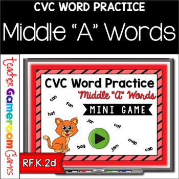 CVC Middle A Practice Mini Game