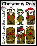 Christmas Craft Pack: Mrs. Claus, Elf, Santa, Gingerbread, Snowman, Reindeer