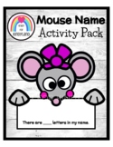 Chrysanthemum Book Companion Name Craft (Back to School, First Day)