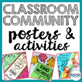 Classroom Community Posters and Activities - Social Emotio