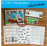 "Core Vocabulary Adapted Book:  ""Go Bunny Go!"""