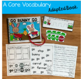 "Core Vocabulary Adapted Book:  ""Go Bunny Go!"""