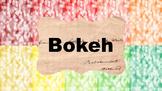 Digital Paper | Bokeh #1