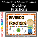 Dividing Fractions - Student vs Student Powerpoint Game