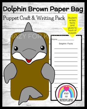 Dolphin Craft: Puppet (Ocean, Animal Research)