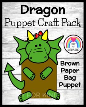 Dragon Craft: Brown Paper Bag Puppet (Fairy Tales)