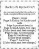 Duck Life Cycle Craft (Spring)