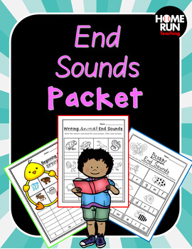 End Sounds, phonics, RTI, phonemic awareness