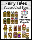 Fairy Tale Craft Pack: Puppets (Red Hen,Billy Goats Gruff,