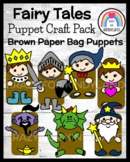 Fairy Tale Craft Bundle (Puppets):Wizard, Genie, Dragon, Ninja, Knight, Princess
