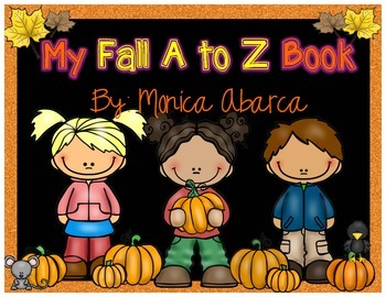 Fall - A to Z Print and Go Mini Book