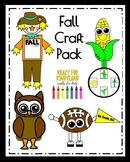 Fall Craft Pack: Scarecrow, Corn Life Cycle, Football, Owl Puppet